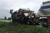 Accident cu 3 cu victime încarcerate pe E85, lângă Teţcani