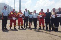 ISU Neamţ premiat la Competiţia naţională de descarcerare şi acordare de prim ajutor