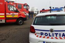 Accident rutier în comuna Săvinești