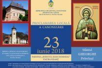 Proclamarea locală a canonizării Sfântului Gheorghe Pelerinul la Piatra Neamţ