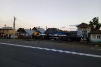 Accident rutier între un autotractor şi un autoturism, în Săvineşti