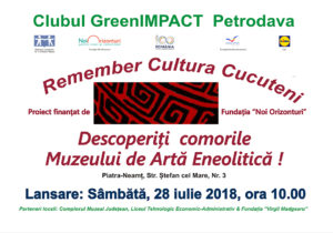 Afis Remember Cultura Cucuteni 28 iulie