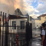 Incendiu unitate economica Tg. Neamt (1)
