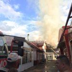 Incendiu unitate economica Tg. Neamt (2)