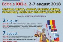 """Festivitatea de închidere a Festivalului Internaţional de Folclor """"Ceahlăul"""", ediţia a XXI-a"""