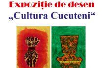 Expoziție de desen inspirată de cultura Cucuteni
