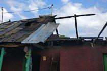 Incendiu de proporţii la o locuinţă din satul Doina, comuna Girov