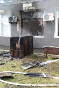 Afumatoare a luat foc