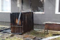 O afumătoare a luat foc în curtea azilului de bătrâni din Tg. Neamţ