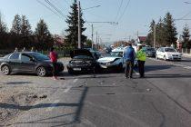 Accident rutier cu victimă încarcerată la Dumbrava Roşie
