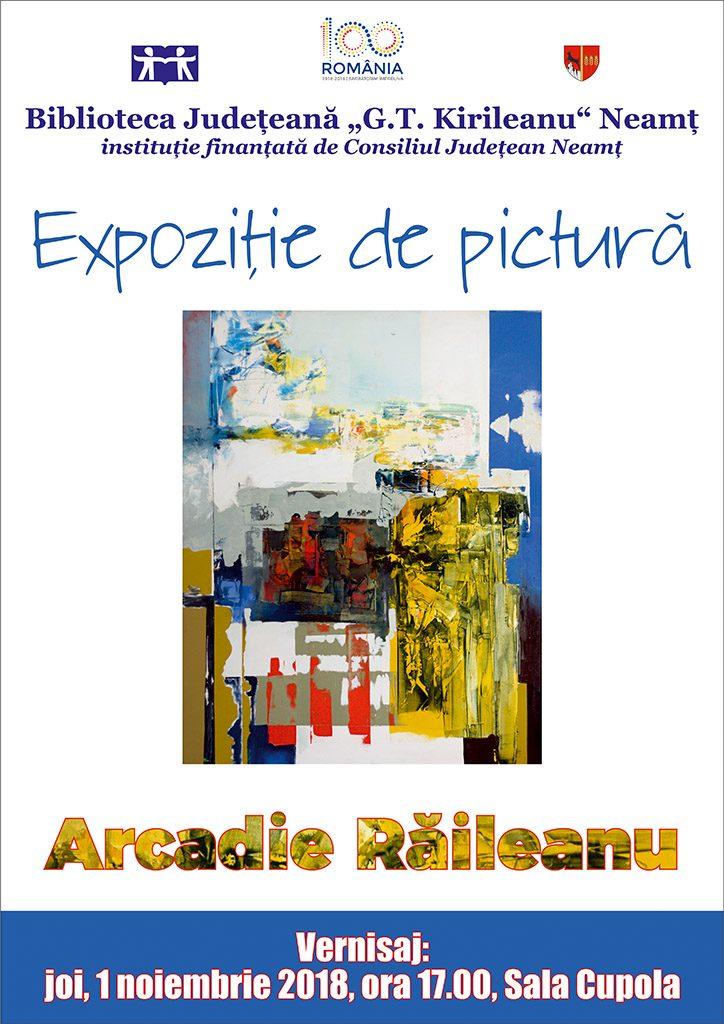 Afis Arcadie Raileanu 2018