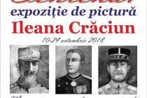 Expoziţie de pictură a artistei plastice Ileana Crăciun la Biblioteca Judeţeană