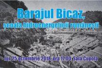 """Dezbaterea """"Barajul Bicaz, şcoala hidroenergeticii româneşti"""", la Biblioteca Judeţeană"""
