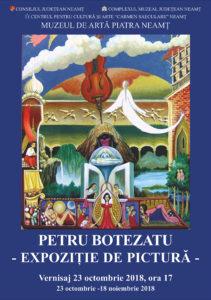 Expozitie pictura Petru Botezatu