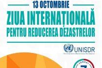 Ziua internaţională pentru reducerea riscului dezastrelor