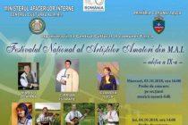 Festivalul Naţional al Artiştilor Amatori din cadrul MAI organizat în comuna Taşca