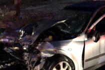 Accident rutier cu 2 persoane încarcerate pe raza comunei Gherăiești