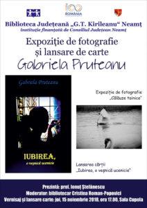 Afis lansare carte Pruteanu