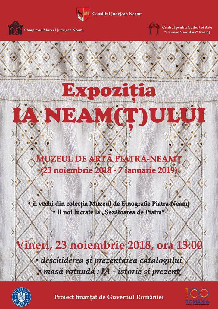 Expozitia Ia Neamtului la muzeul de etnografie