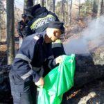 Incendiu de padure Vanatori