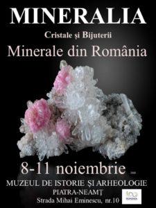 Afis expozitie de cristale si pietre naturale
