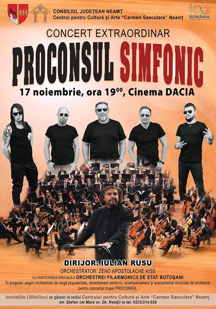 concert Proconsul Simfonic Piatra Neamt
