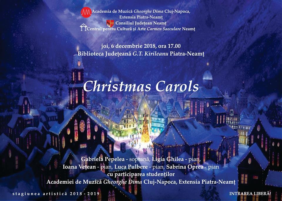 recital muzical de colinde christmas carols