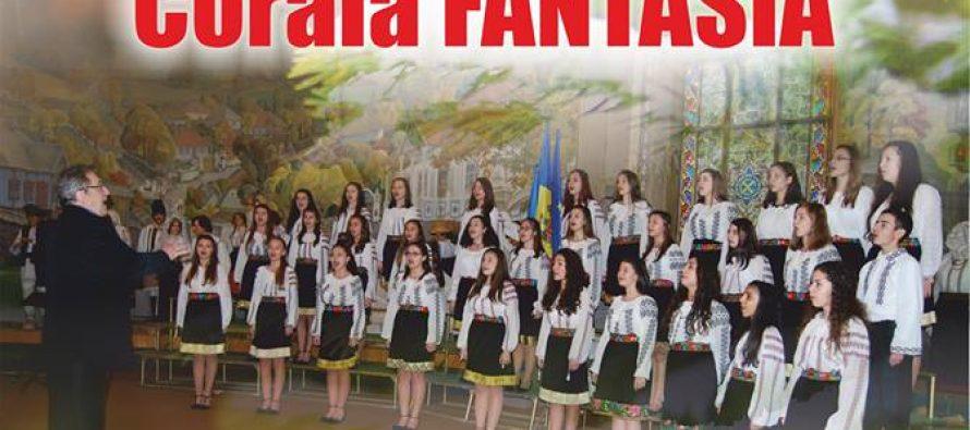 """Concert de colinde oferit de Corala """"Fantasia"""" la Roman și Tg. Neamț"""