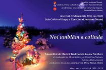 """""""Noi umblăm a colinda"""" – concert la Consiliul Județean Neamț"""