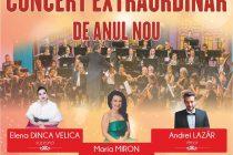 Filarmonica din Botoșani în Concert Extraordinar de Anul Nou la Cinema Dacia