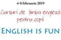 English in Fun, curs intensiv de limba engleză pentru copii