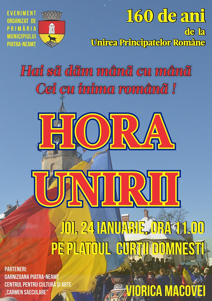 Hora Unirii la Piatra Neamt