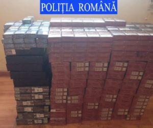 18.000 de țigarete de contrabandă confiscate de polițiștii nemțeni