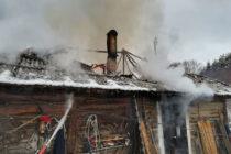 Incendiu puternic la o locuință din Vânători Neamț