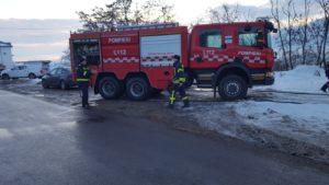 Incendiu atelier peleti Viisoara (1)