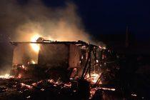 Incendiu la un depozit de furaje, în localitatea Crăcăoani