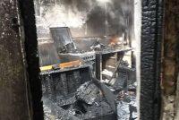 Incendiu la o locuință din Săbăoani provocat de acumulările de gaze de la o butelie