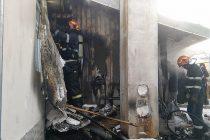 Incendiu la o locuință din proprietatea mănăstirii Agapia