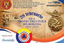 Joi, 28 februarie, Ziua Protecției Civile din România