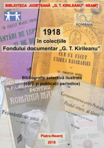 1918 Unirea Basarabiei cu Romania biblioteca judeteana