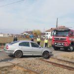 Accident cordun tren autoturism (1)