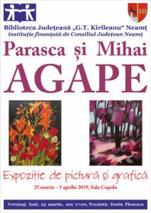 Afis Expozitie Agape