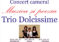 """Concert de muzică camerală """"Trio Dolcissime"""", la Biblioteca Județeană"""
