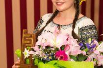 """Alexandra Diana Dan, laureata festivalului """"Florile Ceahlăului"""""""