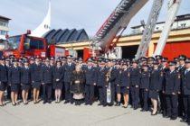 Ceremonie de depunere jurământ și avansări în grad la ISU Neamț