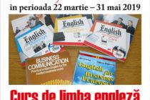 Curs de limba engleză pentru afaceri organizat la Biblioteca Județeană