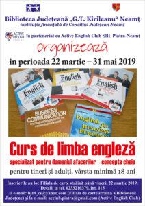Curs limba engleza pentru afaceri 2019