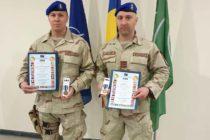 Doi jandarmi nemțeni au revenit acasă după o misiune în Afganistan