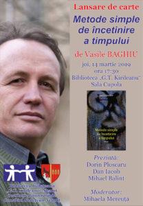 Lansare de carte Vasile Baghiu