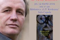 """Lansare de carte Vasile Baghiu la Biblioteca Județeană """"G. T. Kirileanu"""""""